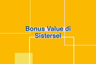 Bonus Value di Sistersel