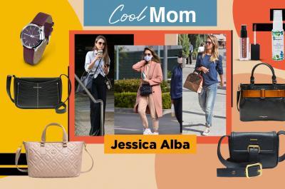 Perfect Off-Duty Jessica Alba Style