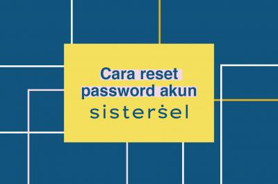 Cara Reset Password