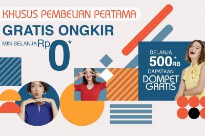 GRATIS Ongkir & Hadiah Dompet